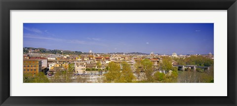 Framed Buildings in a city, Rome, Italy Print