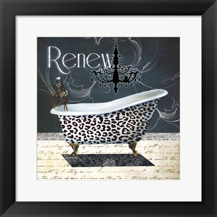 Framed Renew Print