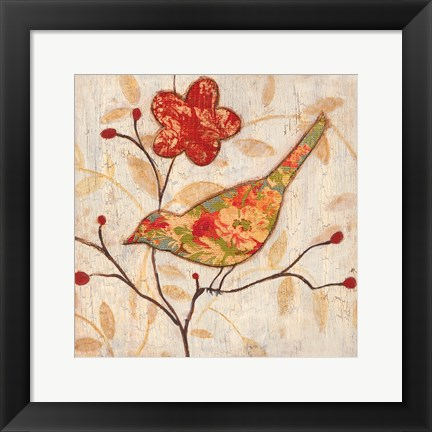 Framed Song Bird Revisited II Print