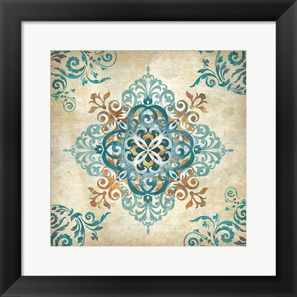 Framed Arabesque II Print