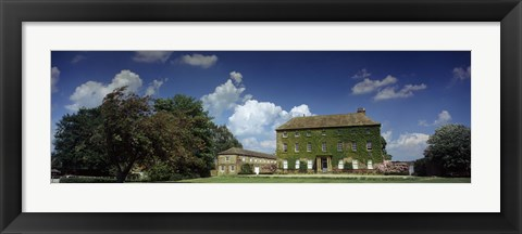 Framed Facade of a building, Crakehall, Bedale, North Yorkshire, England Print