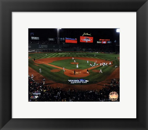 Framed Fenway Park Game 6 of the 2013 World Series Print