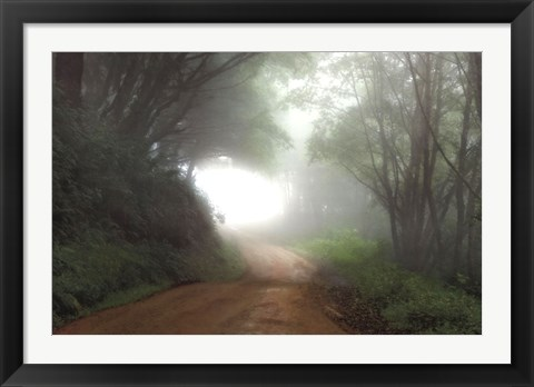 Framed Road to Nowhere Print