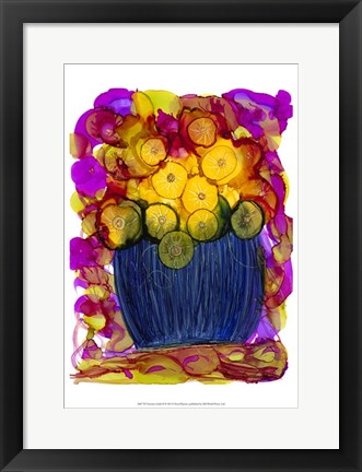 Framed Venetian Golds II Print