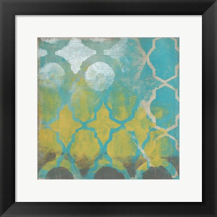 Framed Neo Lattice II Print