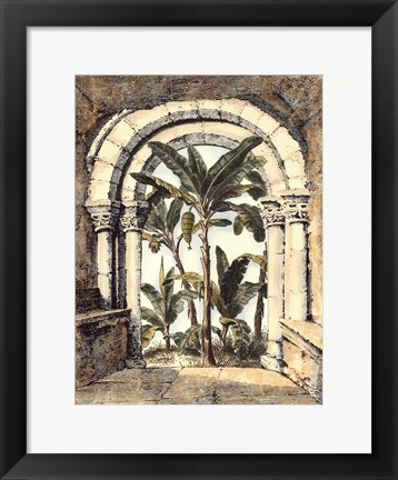 Framed Hidden Garden II Print