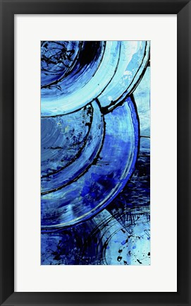 Framed Blue Moons I Print