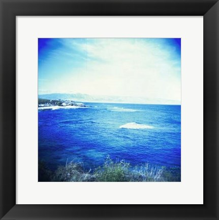 Framed Holga Hawaii V Print