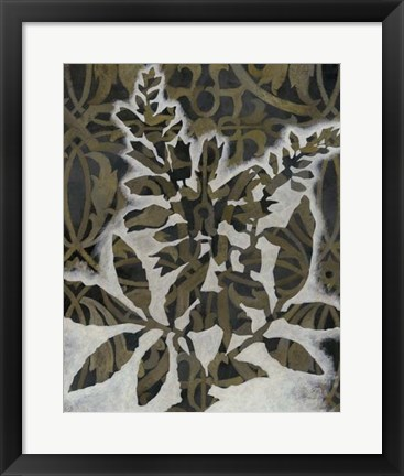 Framed Pattern Bloom I Print