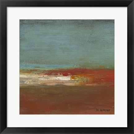 Framed Sea Horizon III Print