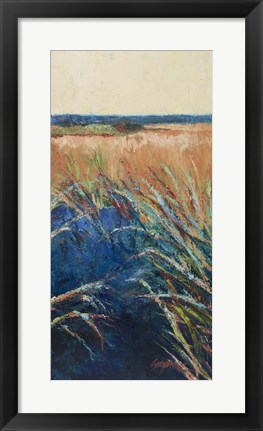 Framed Pastel Wetlands II Print