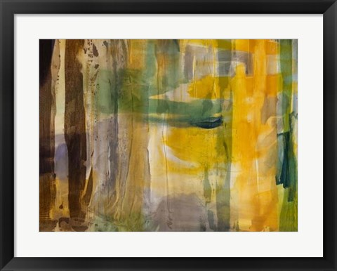 Framed Intuition VII Print