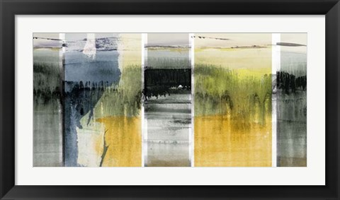 Framed Forest Horizon II Print