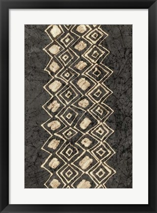 Framed Primitive Patterns IV Print