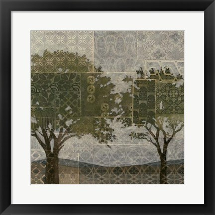 Framed Patterned Arbor II Print