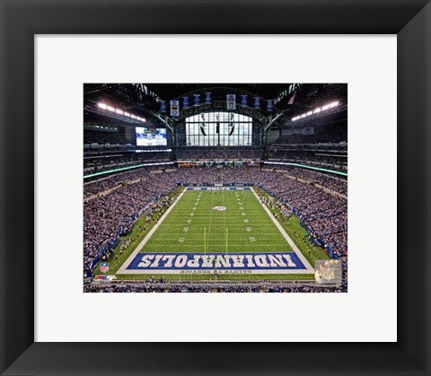 Framed Lucas Oil Stadium 2012 Print