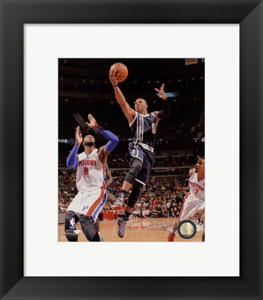 Framed Russell Westbrook 2013-14 Action Print