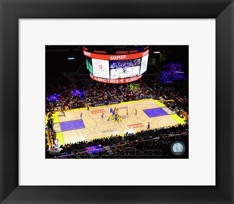 Framed Staples Center 2011 Print