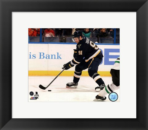 Framed Vladimir Tarasenko in action 2013-14 Print