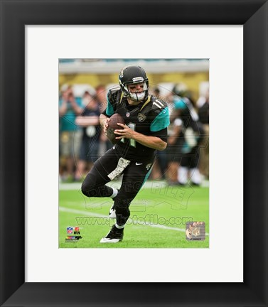 Framed Blaine Gabbert with the ball 2013 Print