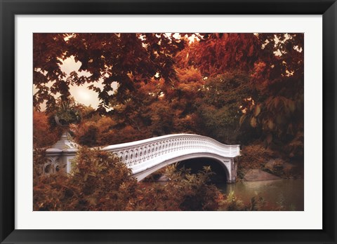 Framed Bow Bridge Print