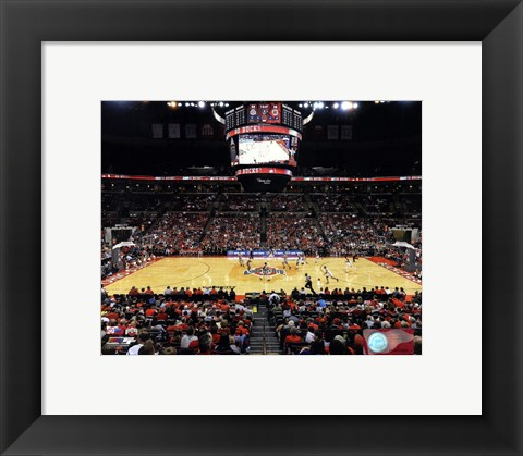 Framed Value City Arena Ohio State Buckeyes 2013 Print