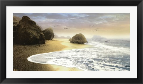 Framed Bodega Beach I Print