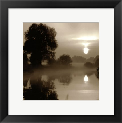 Framed Reflections of the Sun Print