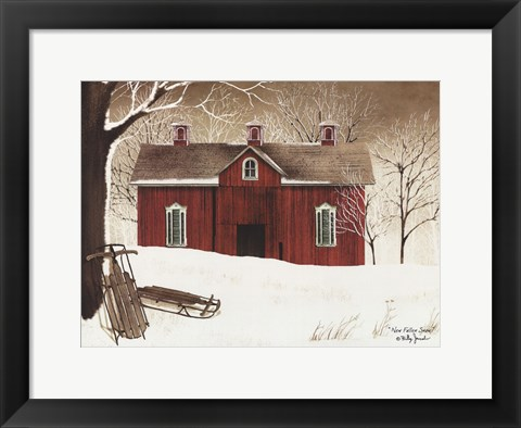 Framed New Fallen Snow Print