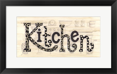 Framed Kitchen Print