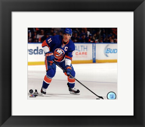 Framed John Tavares 2013-14 Action Print