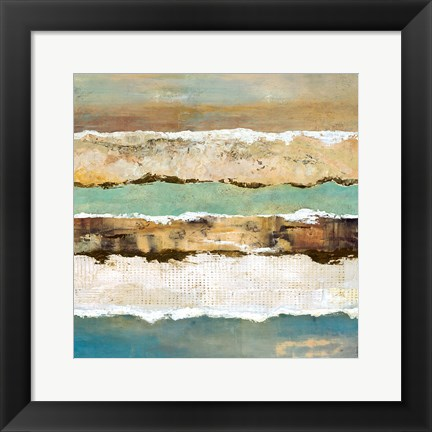 Framed On Edge Revisited II Print
