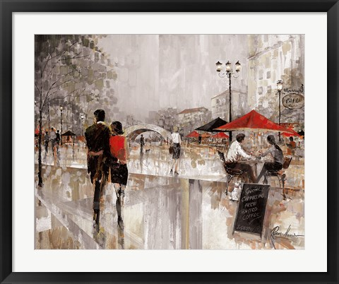 Framed Riverwalk Charm Print