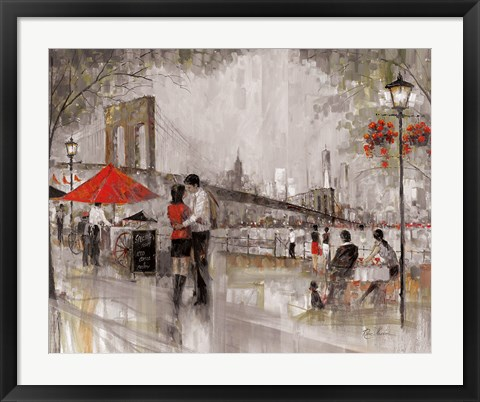 Framed New York Romance Print