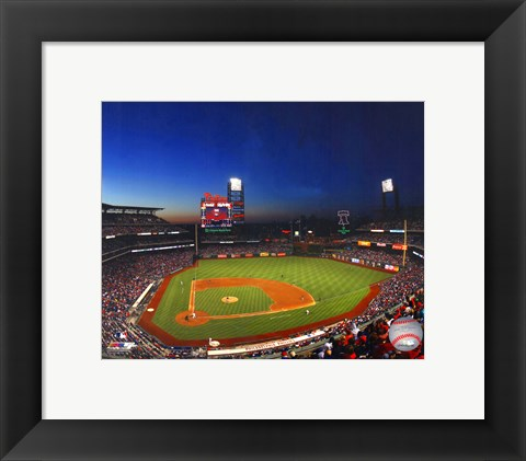 Framed Citizens Bank Park 2013 Print