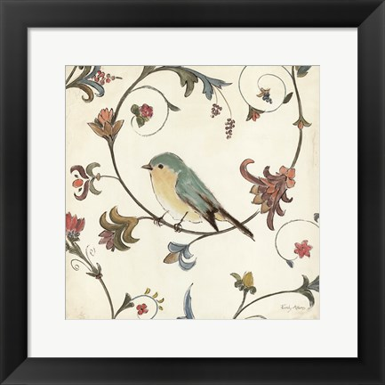 Framed Birds Gem II Print