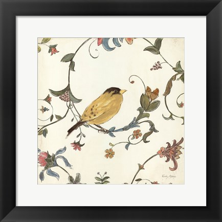 Framed Birds Gem III Print