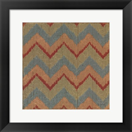 Framed Country Mood Tile II Print