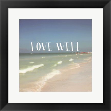 Framed Siesta #2 Love Well Print