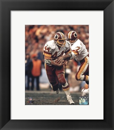 Framed John Riggins Action Print