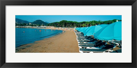 Framed French Riviera, Provence-Alpes-Cote d'Azur, France Print