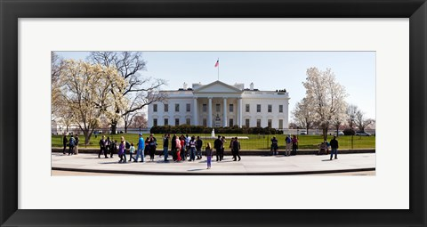 Framed White House, Washington DC Print