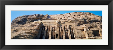Framed Great Temple of Abu Simbel Egypt Print