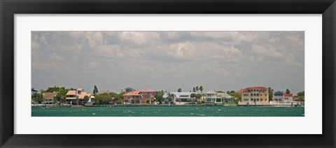 Framed View toward Cabbage Key from St. Petersburg in Tampa Bay Area, Tampa Bay, Florida, USA Print