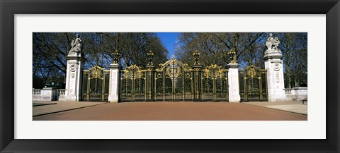 Framed Canada Gate at Green Park, City of Westminster, London, England Print