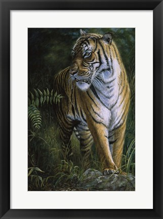 Framed Tiger! Tiger! Print