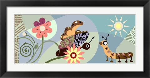 Framed Cycles of Life Print