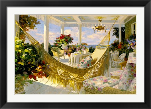Framed Porches and Patios Print