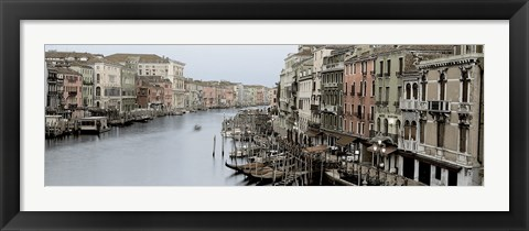 Framed Morning on the Grand Canal Print