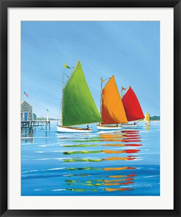 Framed Cape Cod Sail Print